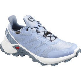 Salomon Supercross GTX Zapatillas Mujer, forever blue/white/flint stone